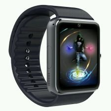 Ceas Smartwatch cu Telefon GT, Camera 1,3 Mpx, Apelare BT, IOS-ANDROID, Black edition