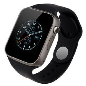Ceas SmartWatch MediaTek™ A1 - Watch  Black Edition - Telefon microSIM, microSD camera