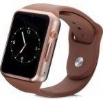 Ceas SmartWatch MediaTek™ A1 - Watch  Brown Edition, Telefon microSIM, microSD camera
