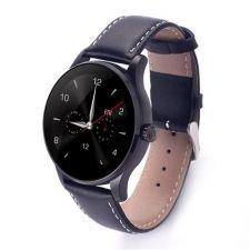 Ceas Smartwatch MediaTek™ K88H Android si IOS, Metalic, Black Edition
