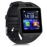 Ceas SmartWatch metalic MediaTek™ - DZ09 Black Edition