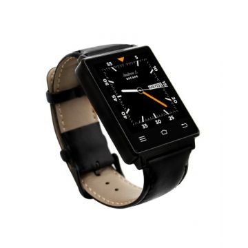 Ceas Smartwatch NO.1, MediaTek™ D6, WI-FI, 3G, 1GB Ram Black Edition