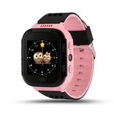 Smartwatch copii MediaTek™ Q528 Roz, lanterna, cu functie telefon