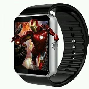 SmartWatch MediaTek™ GT08 SILVER telefon, camera, pedometru, bluetooth, microsim