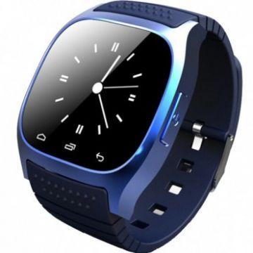 Smartwatch M26, Barometru, Altimetru, Termometru, Pedometru, Stopwatch Blue Edition
