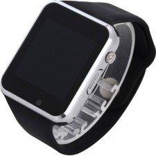 Ceas SmartWatch MediaTek™ A1 PLUS - Silver Edition - Meniu in Limba Romana