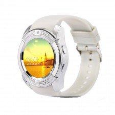 Ceas Smartwatch MediaTek™ V8 Alb