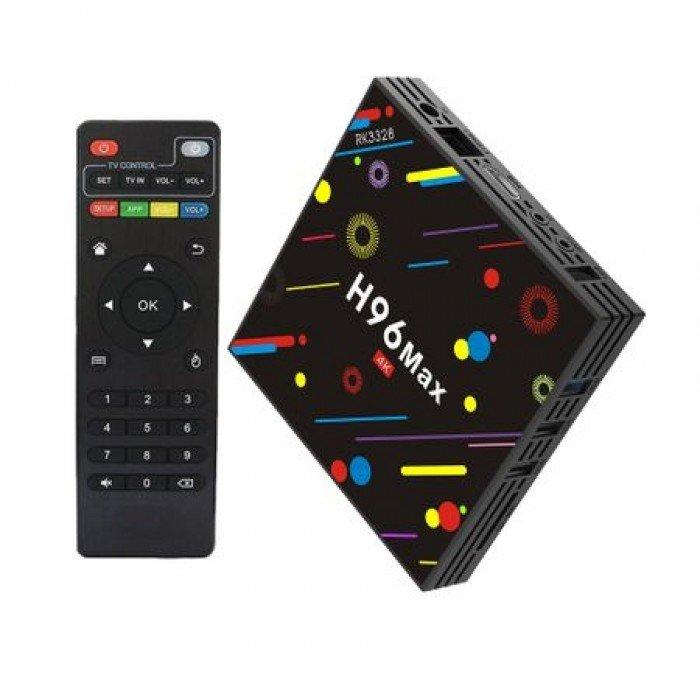 Reduceri de până la 90% | Mini PC TV Box MediaTek H96 Max H2
