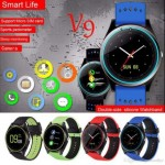 Ceas smartwatch V9 Bluetooth, camera foto, functie telefon, ecran LCD