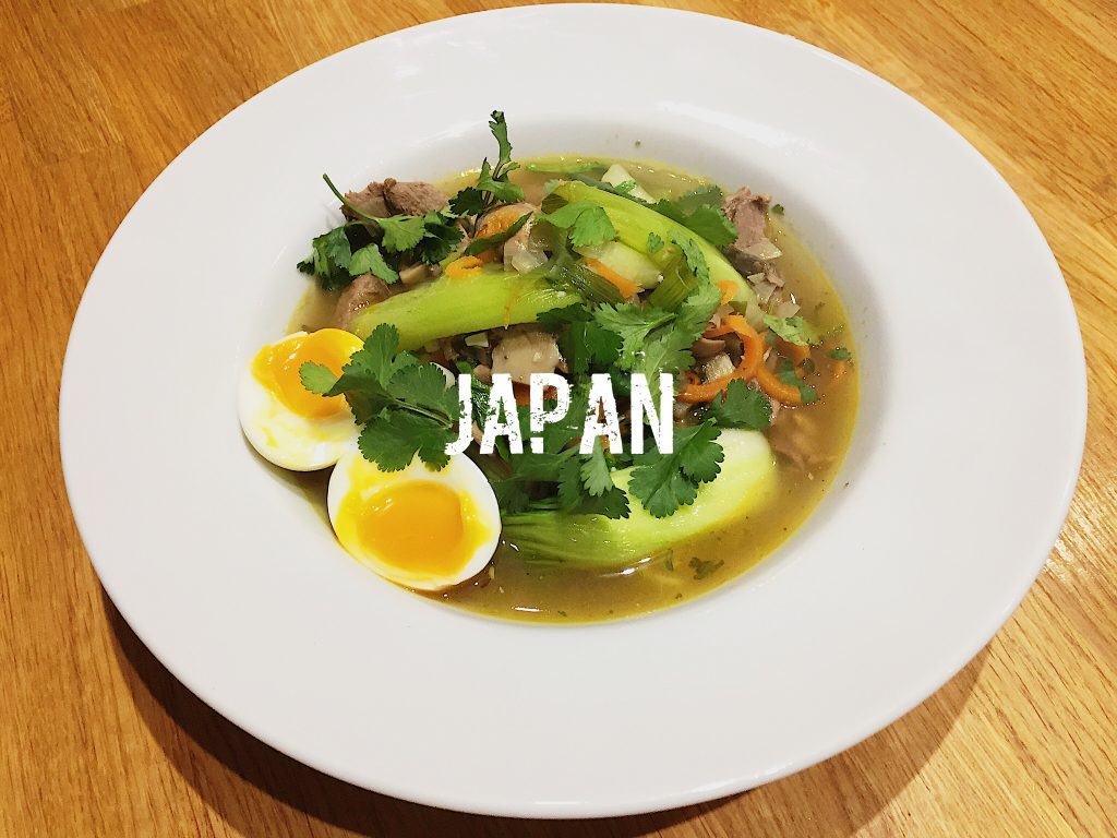 What is the national dish of Japan? | Low Carb Lamb Ramen
