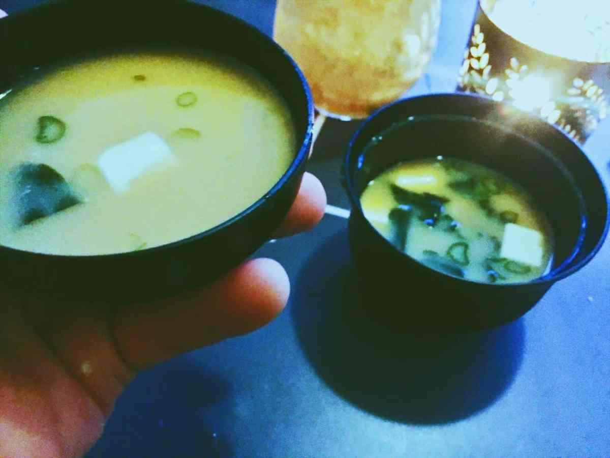 Miso Soup from Koj Cheltenham National Dish Restaurant Review