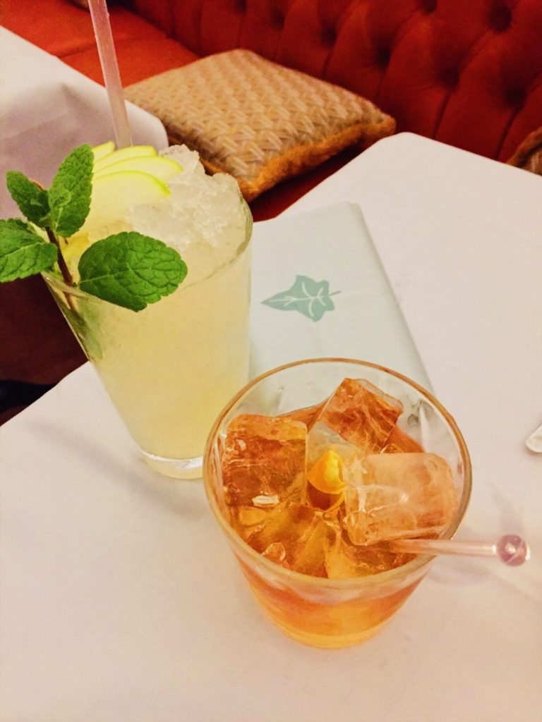 Pitsville Collins and a Buttered Manhattan at The Ivy Cheltenham | Restaurant Review