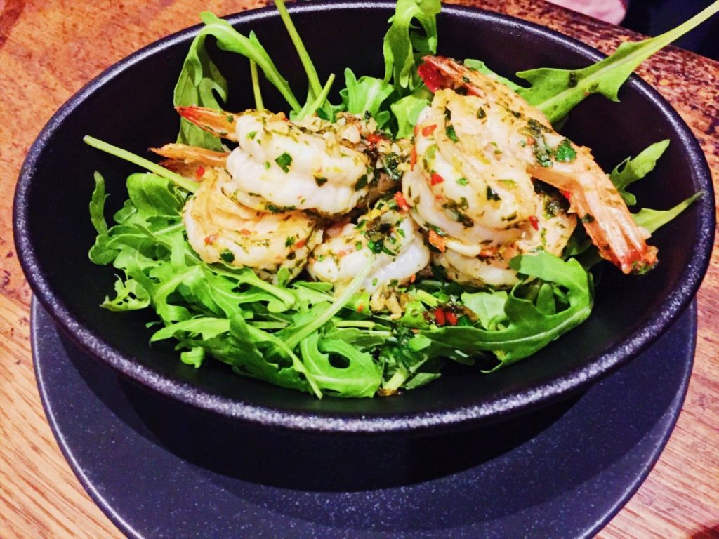 Sizzling prawns in garlic butter, lime zest, herbs and Thai chilli by Orford Flat Iron Norwich.jpg