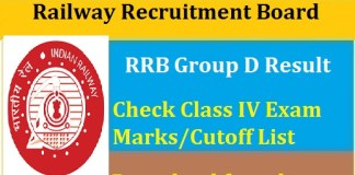 RRB-Group-D-Result-2018