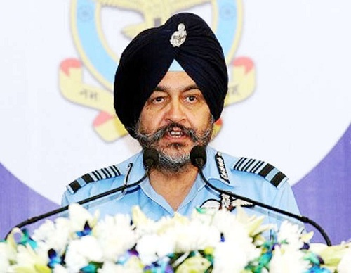 bs dhanoa air force choef