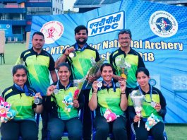 National archery team of Rajasthan