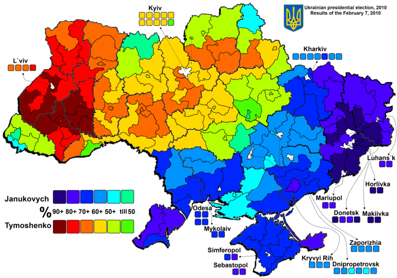 2010 Urkainian Election Results