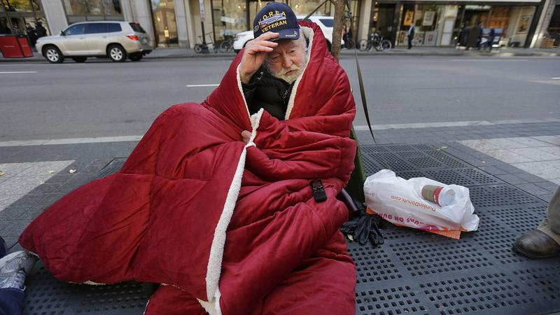 homeless veterans deserve US foreign aid money