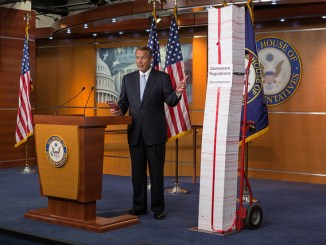 obamacare regulations were over 10,000 pages, and are just a small portion of the regulations stifling America's economy