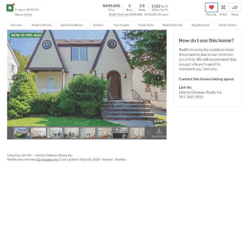 Freeport home listed for $499,000