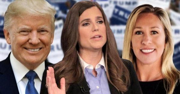 Donald Trump, Nancy Mace, Marjorie Taylor Greene