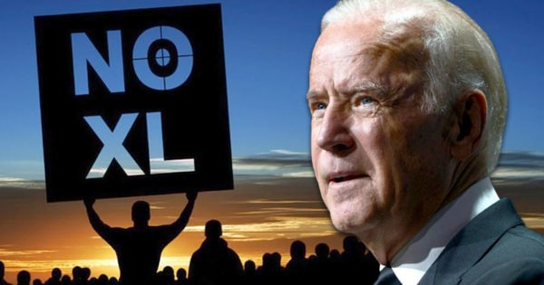 Joe Biden, Keystone XL Pipeline