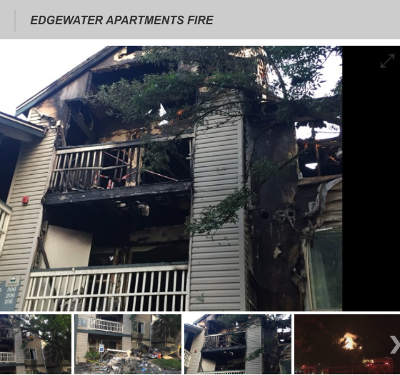 residents escape 3 alarm apartment fire likely caused by