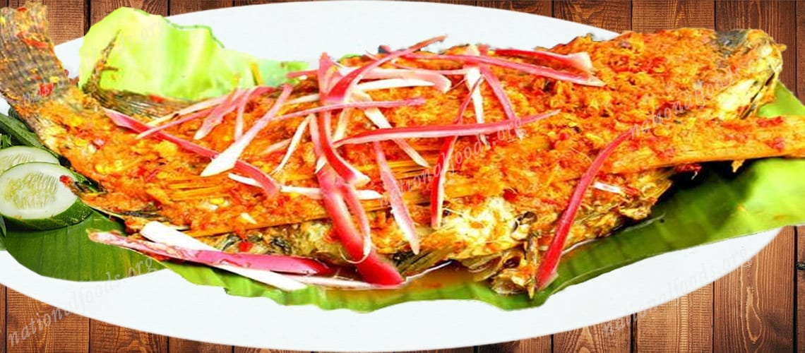 National Dish of East Timor Ikan Pepes