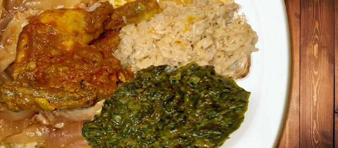 National Dish of Gabon – Poulet Nyembwe