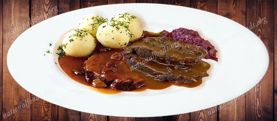 National Dish of Germany – Sauerbraten