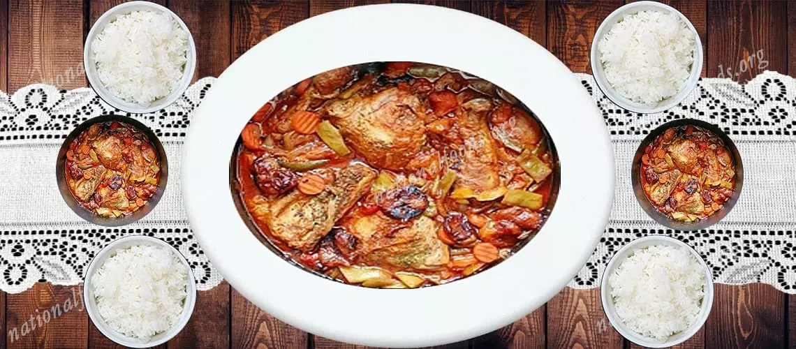 National Dish of Guinea – Poulet Yassa