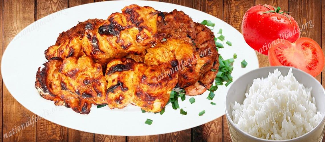 National Dish of India Tandoori Chicken