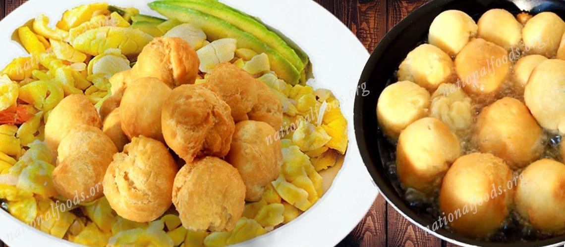 National Dish of Jamaica Ackee and Salt fish