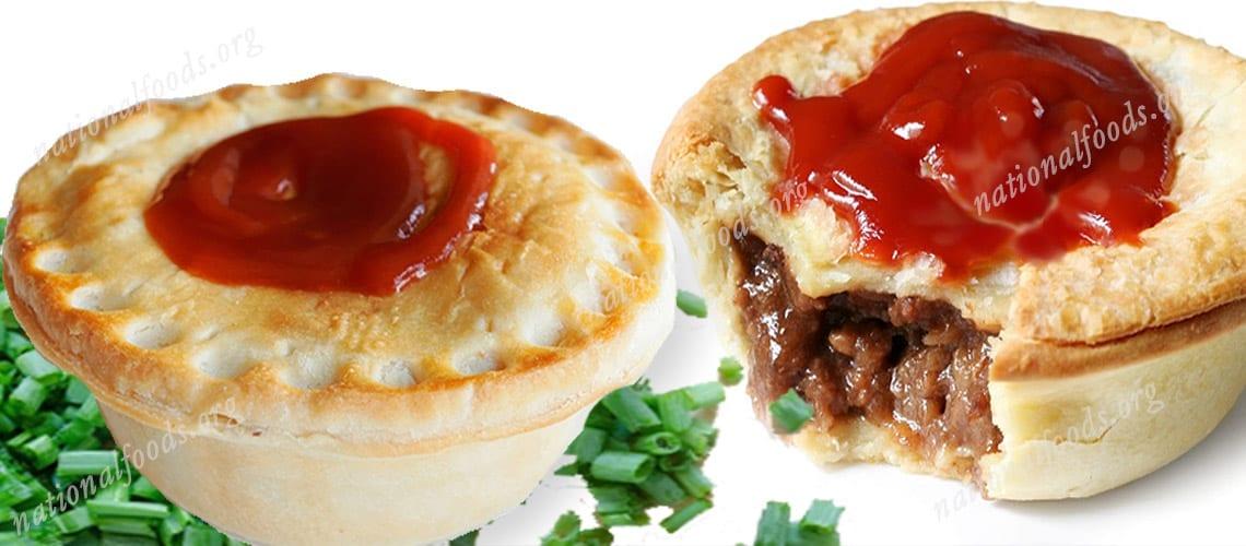 National Dish of Australia Meat Pie