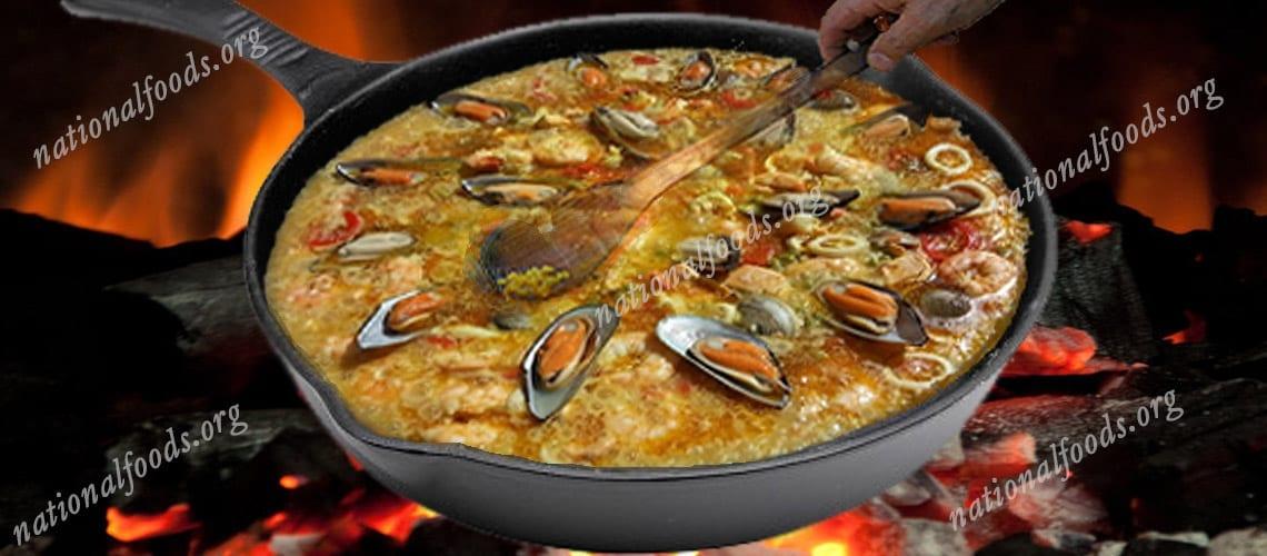 National Dish of Spain Paella