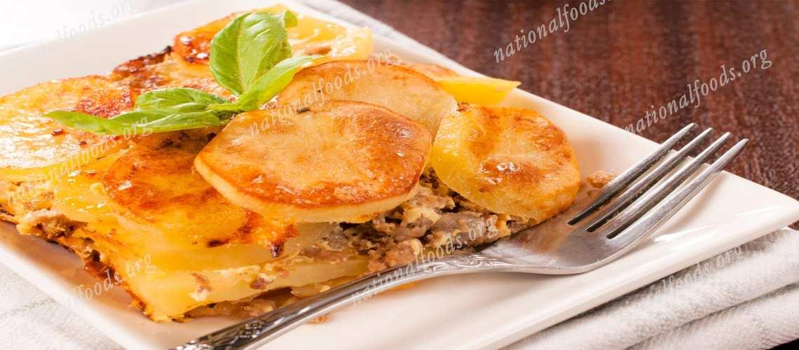 National Dish of Greece Moussaka