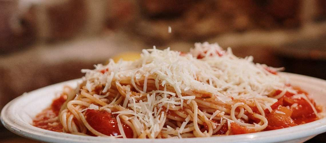 Simple Spaghetti with Tomato