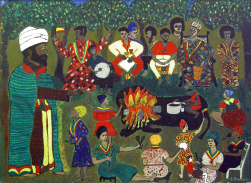 Everald Brown - Niabinghi Hour (1969), Collection: NGJ