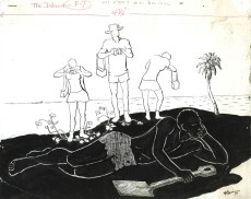 Albert Huie - The Island (1972), illustration, Collection: NGJ
