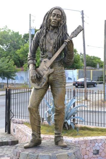 Alvin Marriot - Bob Marley (1985), Celebrity Park