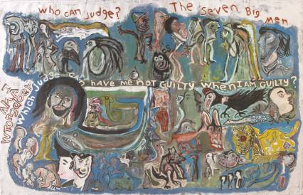 Leonard Daley - I Am a Wrongdoer, Who Can Judge? (1998), Wayne and Myrene Cox Collection.