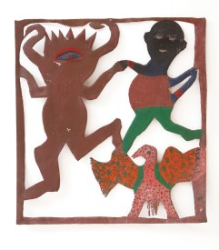 Reginald English - Dances with Whoodie (1993), Wayne and Myrene Cox Collection.