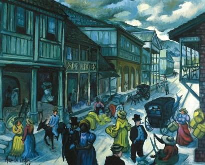 Alexander Cooper - Old King Street (1988), Collectoin: Bank of Jamaica