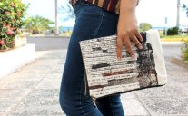 Handmade Clutch Purse by Khristina Godfrey