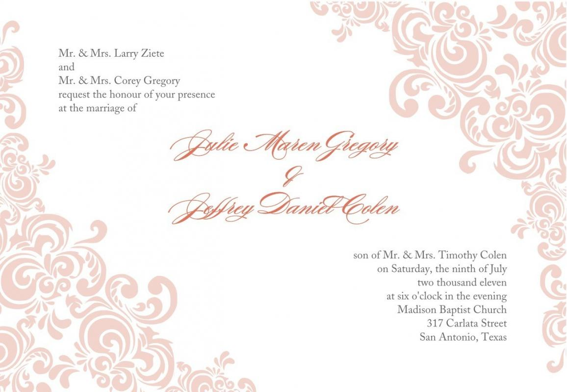Printable Invitations Templates