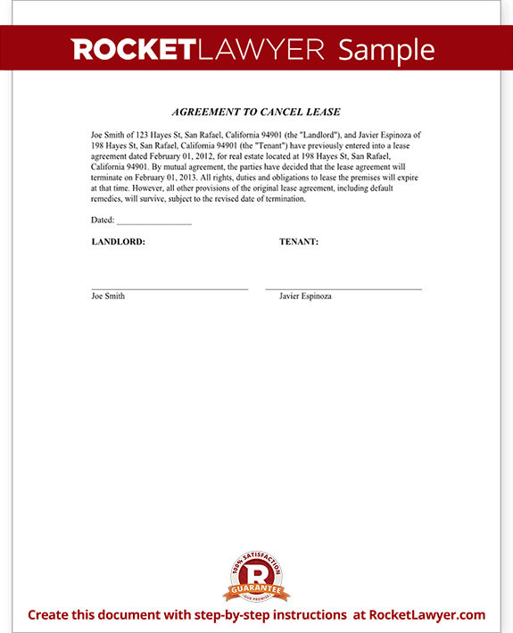 Letter to tenant for breaking lease poemdocor letter to break lease template business spiritdancerdesigns Images