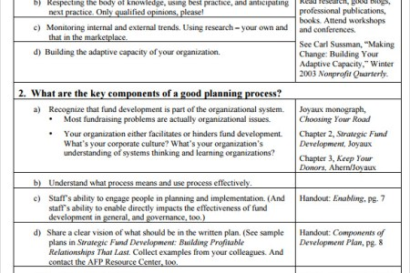 Enchanting Fund Development Plan Template Adornment - Certificate ...