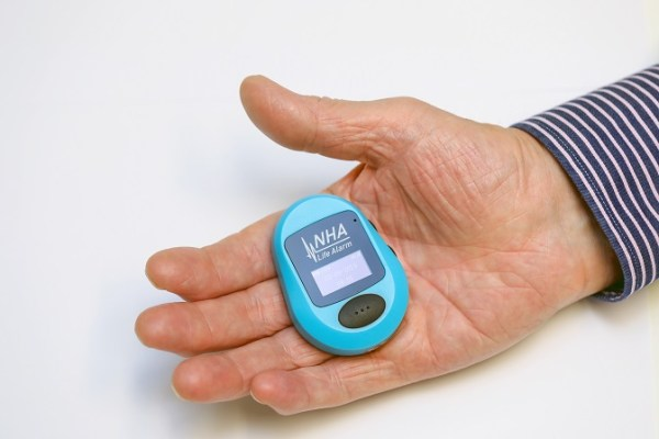 Device in hand