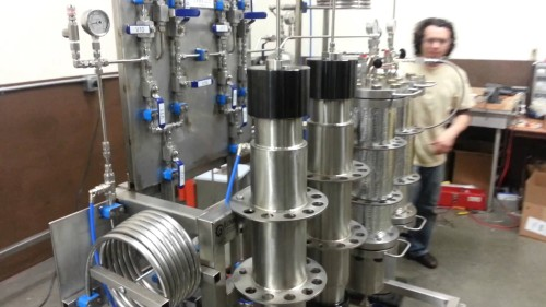 Eden labs HI-FLO Super Critical CO2 Extractor