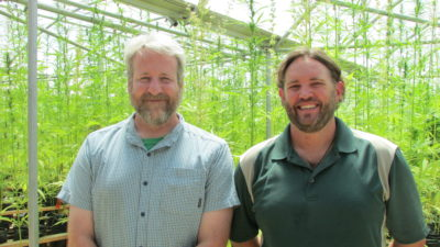 Damian and Rick co-founders of Colorado Cultivars